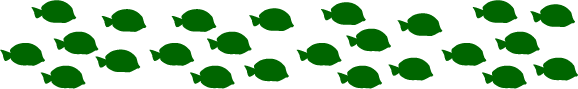line drawings of fish